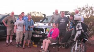 Week 1 Gang at Uluru